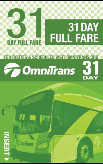 Full Fare 31-Day Pass