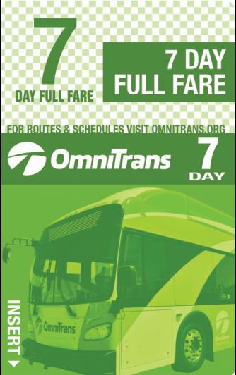 Full Fare 7-Day Pass
